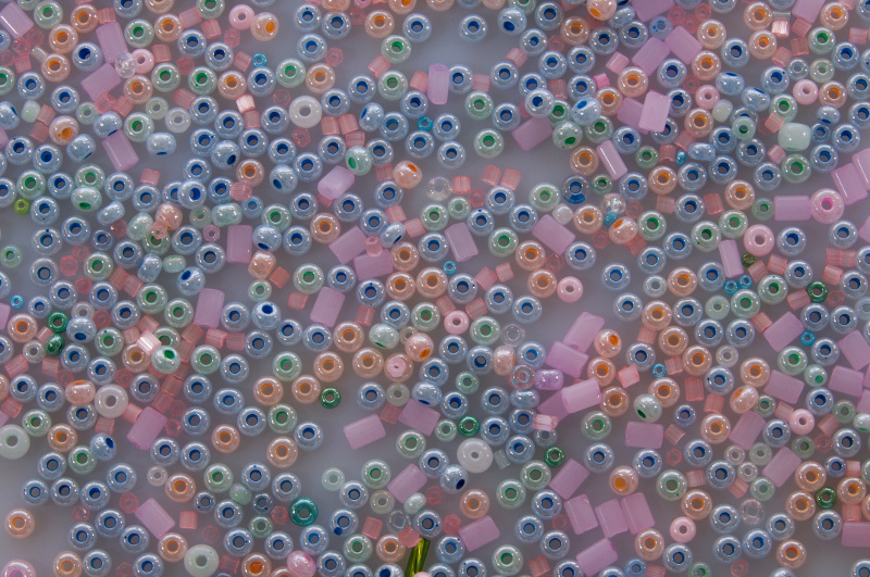 Pastels - Rocaille Bead Mix